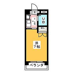 第5塚本ハイツ[1階]の間取り