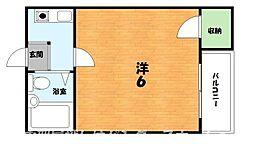 大阪府枚方市伊加賀寿町の賃貸マンションの間取り