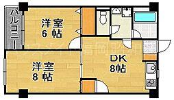 第7ダイヨシビル[2階]の間取り