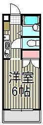 ジュネパレス鎌倉第7[310号室]の間取り