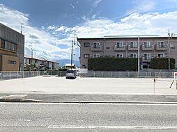 交通量の豊富な唐子台線に面した店舗に最適な土地