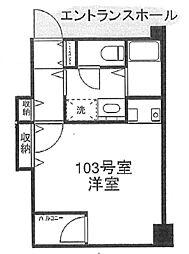 ICプラザ大島[1階]の間取り