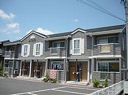 長野県須坂市大字高梨の賃貸アパートの外観