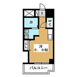 ヴィラN19[2階]の間取り