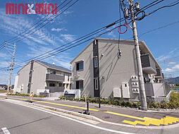 福岡県糸島市篠原の賃貸アパートの外観