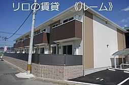 福岡県糟屋郡粕屋町大字江辻の賃貸アパートの外観