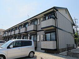 千葉県東金市東上宿の賃貸アパートの外観
