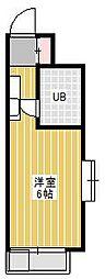 ジュネパレス新松戸第14[5階]の間取り