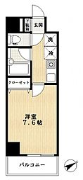 ドゥーエ船堀[4階]の間取り
