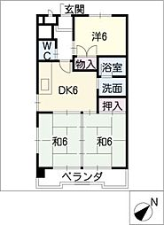 STビル[5階]の間取り