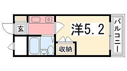 プレアール姫路龍野町[305号室]の間取り