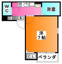 Grotta blu KOMAGOME[2階]の間取り