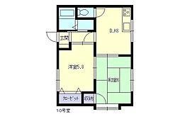 第5岡村ハイツ[5号室]の外観