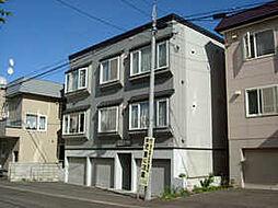 北海道札幌市豊平区月寒東一条11丁目の賃貸アパートの外観