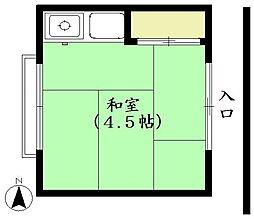 加藤荘[202号室]の間取り