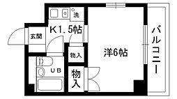 ふたばマンション[201号室]の間取り
