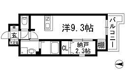 ONLYONE鶴之荘[3階]の間取り