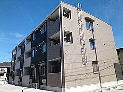 神奈川県大和市上草柳6丁目の賃貸アパートの外観
