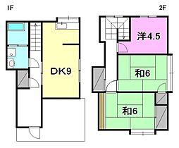 [一戸建] 愛媛県松山市今在家4丁目 の賃貸【/】の間取り