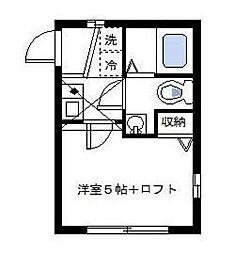 コルージャ/CORUJA[203号室号室]の間取り