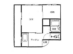 ニュー横井[2階]の間取り