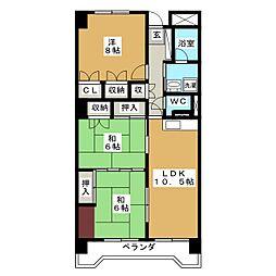 191ビル[2階]の間取り