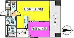 MM−5[8階]の間取り