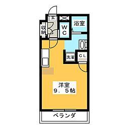 PJ石薬師[2階]の間取り