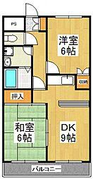 コンフォース[2階]の間取り