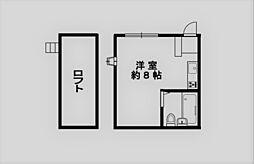 サンパレス21上ヶ原[102号室]の間取り