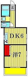 第五六親荘[2階]の間取り