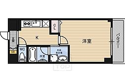 ノエル野江[4階]の間取り