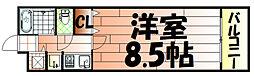 サーパス小倉[7階]の間取り