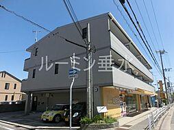 兵庫県神戸市垂水区野田通の賃貸マンションの外観