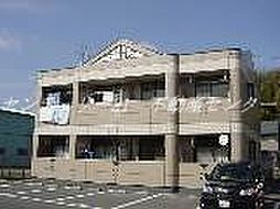 岡山県岡山市中区福泊の賃貸マンションの外観