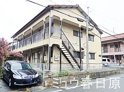 福岡県春日市上白水1丁目の賃貸アパートの外観