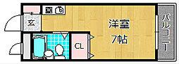 第二小川ハイツ[2階]の間取り