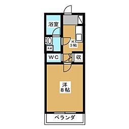 P−STYLE[2階]の間取り
