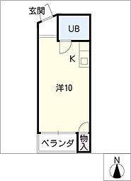 レジデンス入場PartII[3階]の間取り