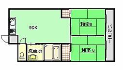 出張ビル[4階]の間取り