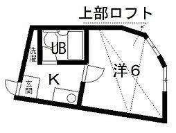 サンシャトー桜ヶ丘[101号室号室]の間取り