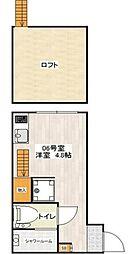 DHG.彩[106号室号室]の間取り