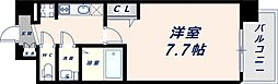 Osaka Metro中央線 緑橋駅 徒歩6分の賃貸マンション 9階1Kの間取り
