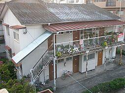 松葉アパート西棟[8号室]の外観