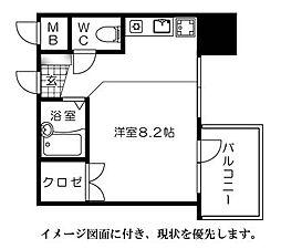 京橋森野ビル[1104号室]の間取り
