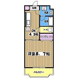 グランコンフォート[3階]の間取り