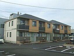徳島県徳島市北沖洲3丁目の賃貸アパートの外観