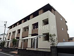 東京都あきる野市秋留1の賃貸アパートの外観