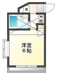 サンサーラ古庄I[2階]の間取り