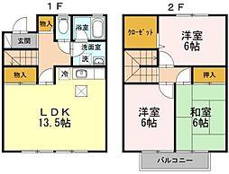 ガーデンタウン松島 C-1棟[C-1-3号室]の間取り
